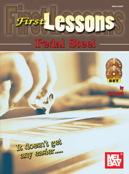First Lessons Pedal Steel by Jay Leach