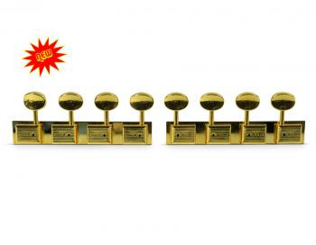 Gold Plated Kluson Tuners - 4 per side for Stringmaster