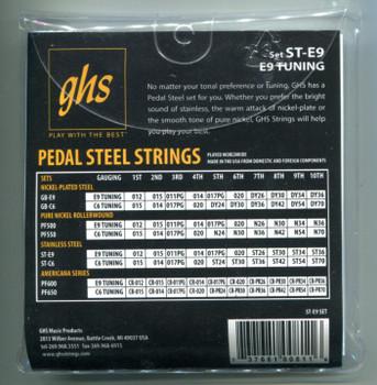 GHS E9th Super Steels 12-36