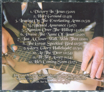 Hawaiian Gospel Steel Guitar - Terry Wood CD