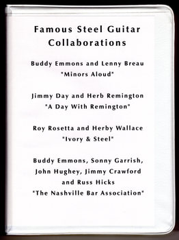 Famous Steel Guitar Collaborations