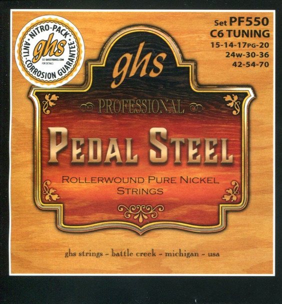 GHS C6th Pure Nickel Rollerwound