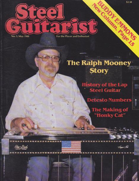 Steel Guitarist Magazine #5 - May 1980
