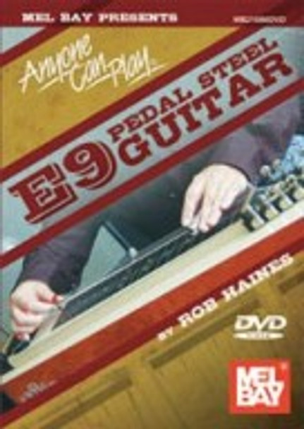 Anyone Can Play E9 Pedal Steel Guitar DVD