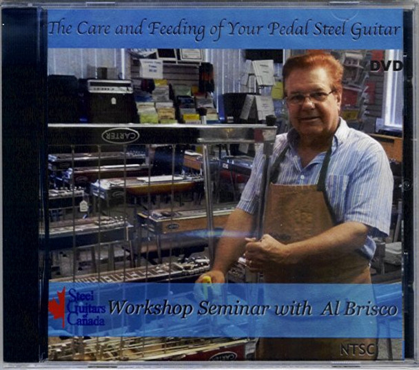 The Care and Feeding of Your Pedal Steel Guitar DVD