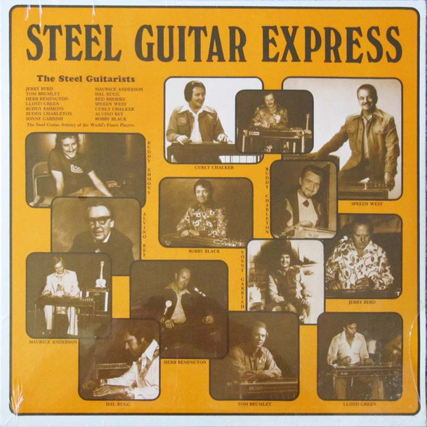 Various Artists LP Steel Guitar Express