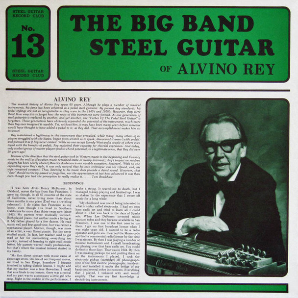 Alvino Rey  LP The Big Band Steel Guitar