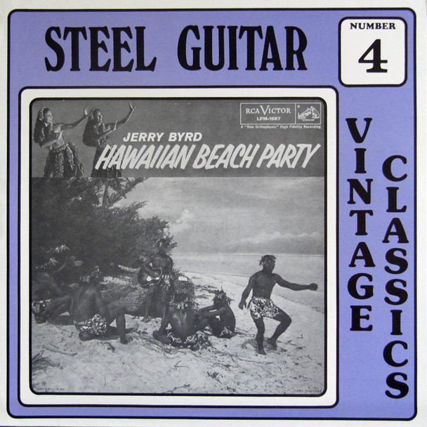 Jerry Byrd LP Hawaiian Beach Party