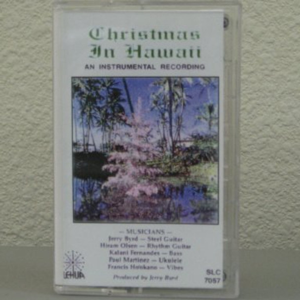 Jerry Byrd tape Christmas in Hawaii