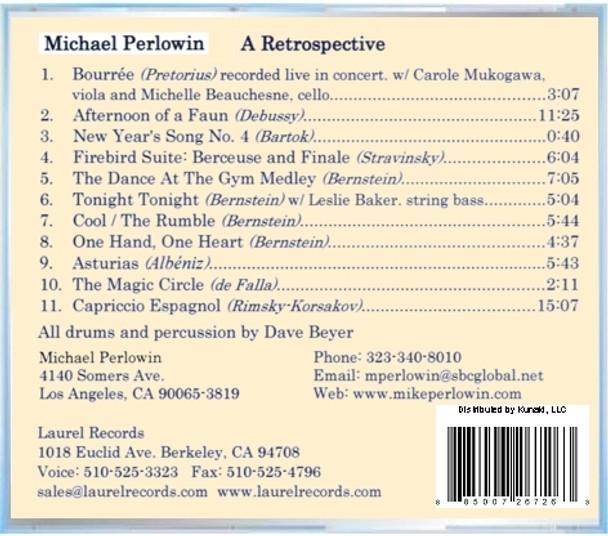 Michael Perlowin CD A Retrospective