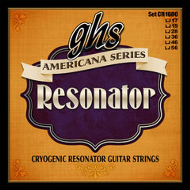 GHS Cryogenic Resonator Strings