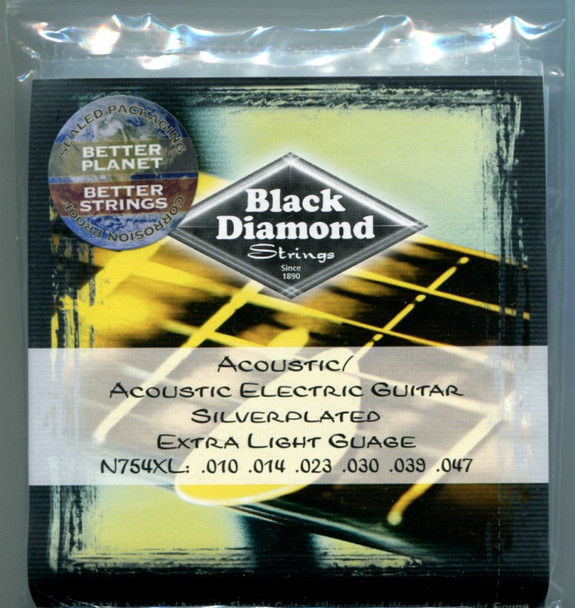 Black Diamond Silverplated, Extra Light