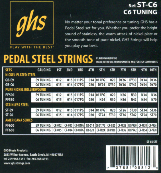 GHS C6th Stainless Steel 15-70