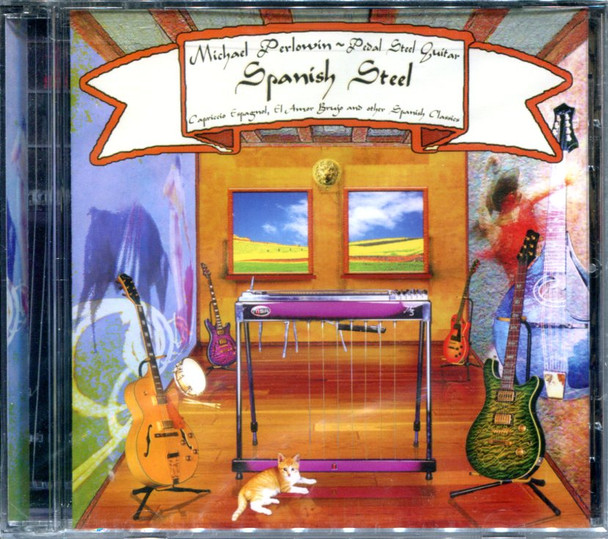 Spanish Steel - Mike Perlowin CD