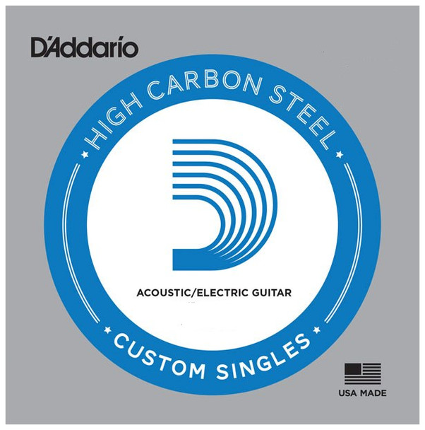 D'Addario Plain High Carbon Steel Strings - 5-Packs