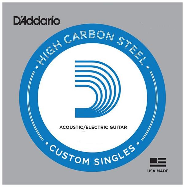 D'Addario Plain High Carbon Steel Strings - 5-Packs