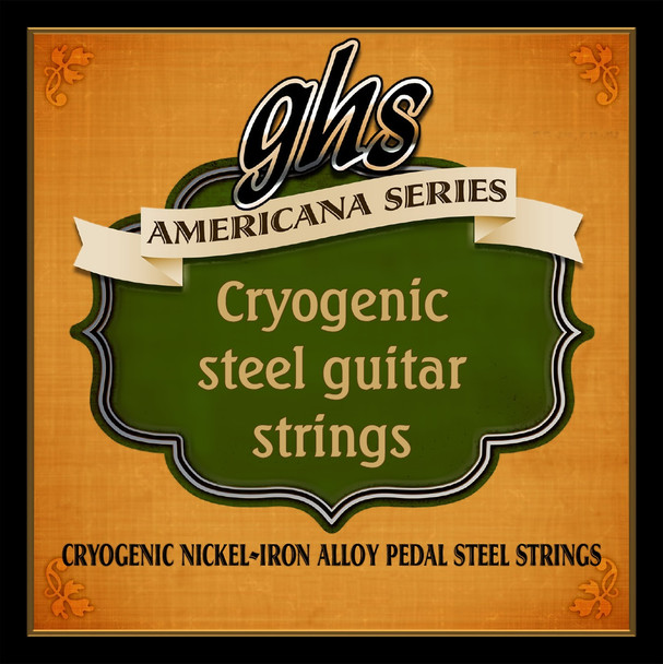 GHS Cryogenic Nickel-Iron Wound Strings
