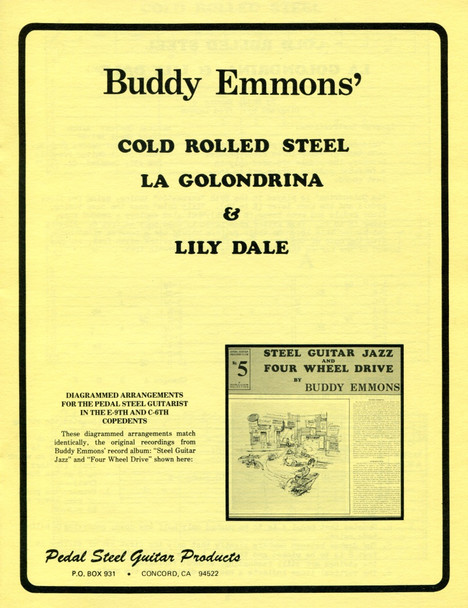 Buddy Emmons' (3 songs)