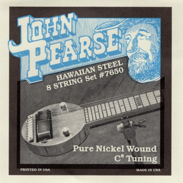 John Pearse #7650 Hawaiian 8-string (high G)