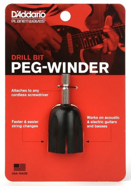 Drill Bit Peg Winder