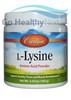 Carlson L-Lysine Amino Acid Powder at GoHealthyNext
