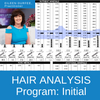 Hair tissue mineral analysis services include the initial hair analysis test and customized nutritional counseling services from Eileen Durfee, NC.