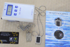 An Ion Tester shows the number of negative ions produced by the Scalar Energy card