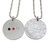 Quantum Scalar Pendant, with Germanium, FIR, and magnetic balls on the back at Go Healthy Next