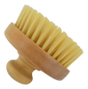 Pre-sauna dry skin brush (side view)