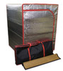 Radiant sauna tent, Tent travel bag, Bamboo sauna floor mat