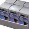 Six pack of ION Brite anion LED zero mercury, negative ion generating light bulbs from Creatrix Solutions.