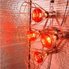 Sauna Fix near infrared light fixture.