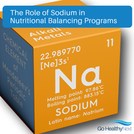 The Role of Sodium in the Body and in Nutritional Balancing Programs