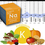 Sodium/Potassium Ratio on a Hair Analysis Test