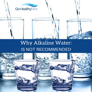 Alkaline water is not part of nutritional balancing