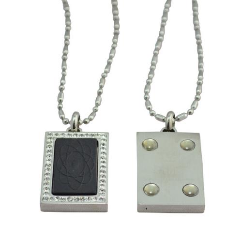 Scalar Energy Pendant - rectangular - Quantum Jewelry at Go Healthy Next
