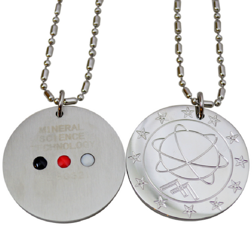 Pendant - Stainless Steel FIR, Magnet at Go Healthy Next