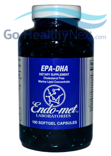 Endo-met EPA-DHA (180 Softgel Capsules) at Go Healthy Next