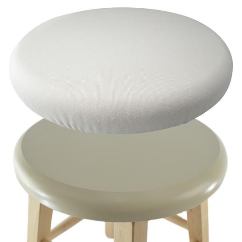 Organic Bamboo Fleece sauna stool cover at Go Healthy Next