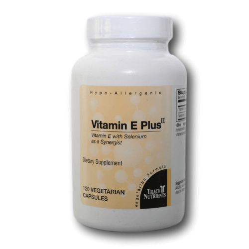 Trace Elements, Inc. Vitamin E Plus II Capsules (120)