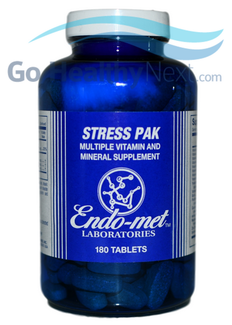 Endo-met Stress Pak (180 Tablets) at Go Healthy Next