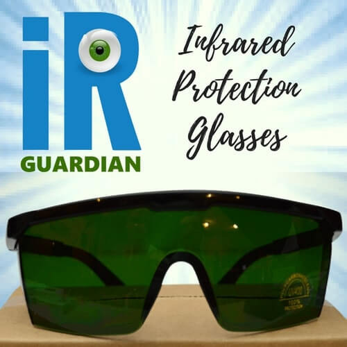 IR Guardian Blue Light and Near Infrared Sauna Protection Glasses at Go Healthy Next