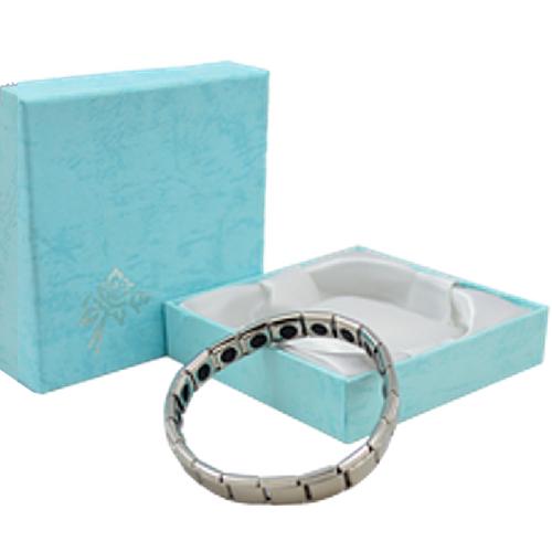 Silver Titanium Quantum Bracelet with 20 Germanium Balls at Go Healthy Next