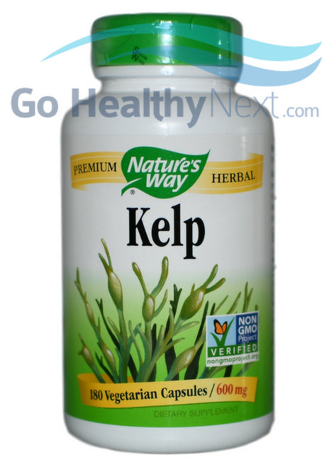 Nature's Way Kelp (180 Capsules) at GoHealthyNext