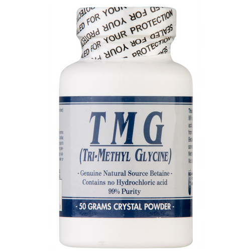 TMG Tri-Methyl Glycine (50 Gms Crystal Powder) at Go Healthy Next