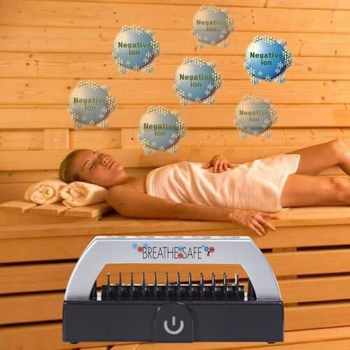 Triple the Benefits of your next Sauna Session with the Breathe Safe® Sauna ION Generator at Go Healthy Next