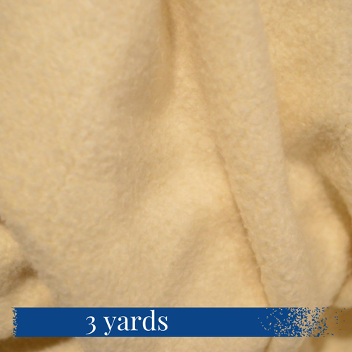 3 yards of Organic 80/20 Organic Bamboo Cotton Fleece at Go Healthy Next
