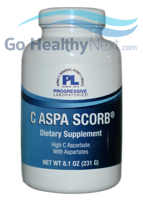 Progressive Labs C Ascorbate with Aspartates at Go Healthy Next