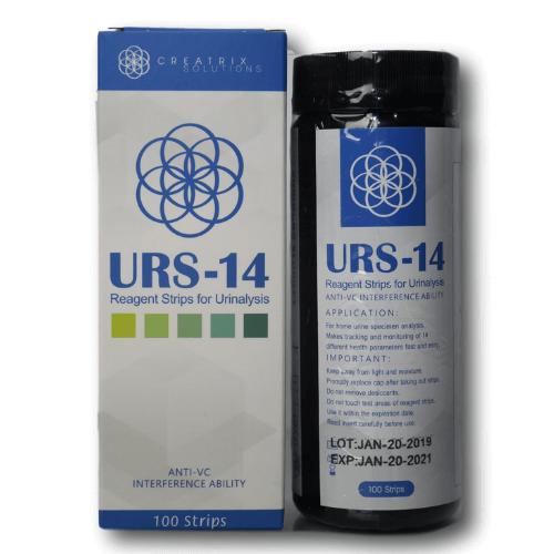 URS-14 Test Box Bottle Front