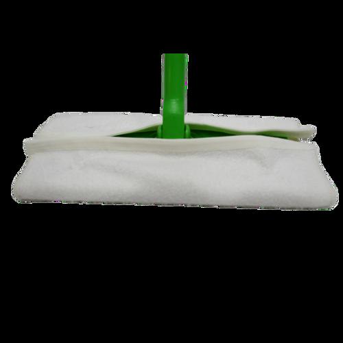 Organic Floor Fleece for Sweeper, washable for dry and wet floor scrubbing